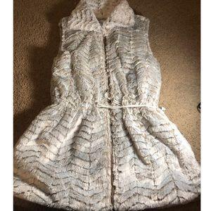 Sabrina Lauren Faux Fur Vest
